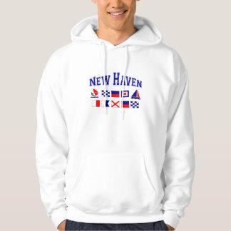 New Haven, CT Hooded Sweatshirt