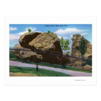 New Haven, CTWest Rock Park View of Judges Postcard