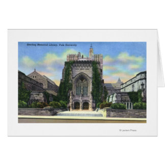 New Haven, CTYale Sterling Memorial Library Card