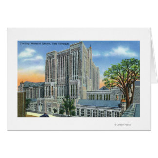 New Haven, CTYale U Sterling Memorial Library Card