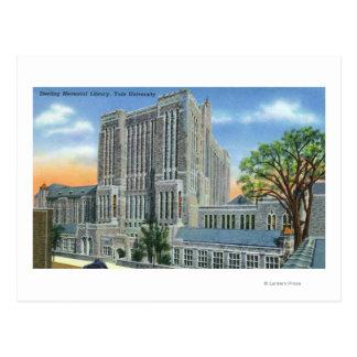 New Haven, CTYale U Sterling Memorial Library Postcard