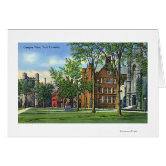 New Haven, CTYale University Campus View Card