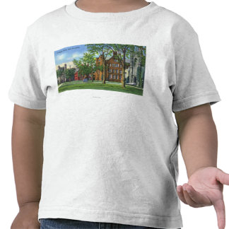 New Haven, CTYale University Campus View T-shirt
