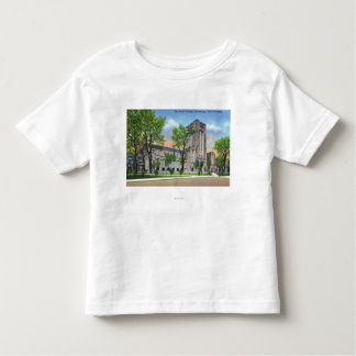 New Haven, CTYale University Payne Whitney Gym Toddler T-Shirt
