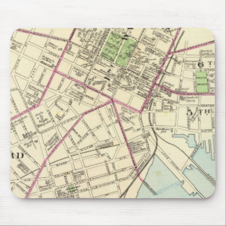 New Haven Map Mouse Mat