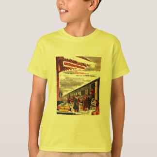 New Haven Railroad Christmas 1947 Tagless T Shirt