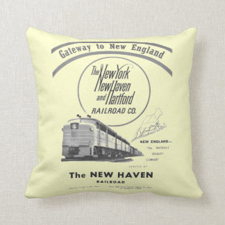 New Haven Railroad-Gateway to New England 1950 Cushion