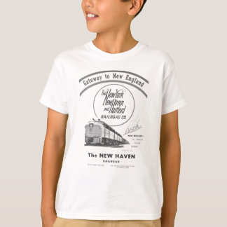 New Haven Railroad-Gateway to New England 1950 T-shirts