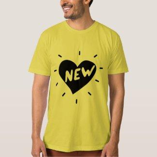 New Heart / Men's Super Soft Organic T-Shirt