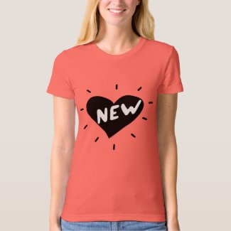 New Heart / Women's American Apparel Organic