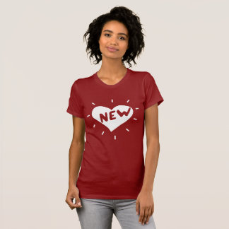 New Heart / Women's Fitted T-Shirt