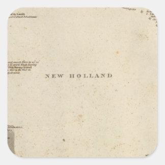 New Holland, Australia Square Sticker