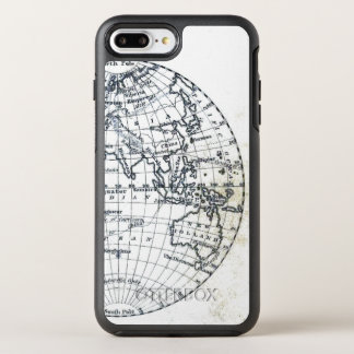 New Holland Map Globe Illustration Minimalist OtterBox Symmetry iPhone 8 Plus/7 Plus Case