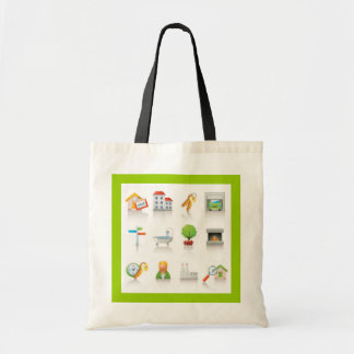New Home Canvas Bags