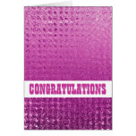 """New home"" congratulations Greeting Card"