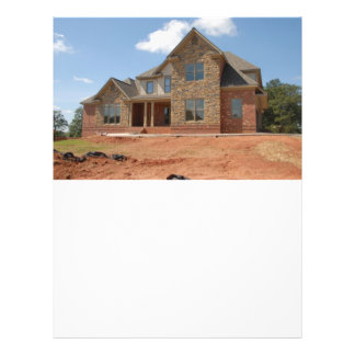 New Home Construction Full Color Flyer