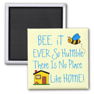 New Home-House Warming Gift Square Magnet