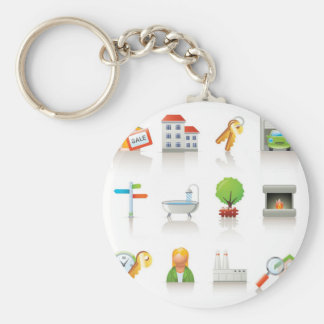 New Home Key Chains