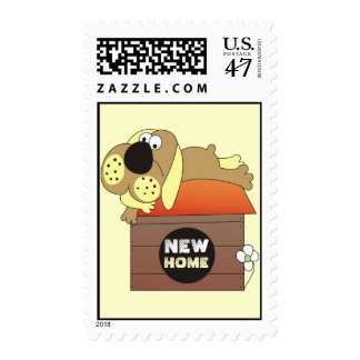New Home Postage Stamps