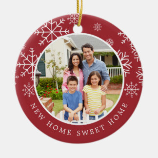 New Home Sweet Home | Photo Christmas Ornament