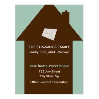 New Home Sweet Home Postcard