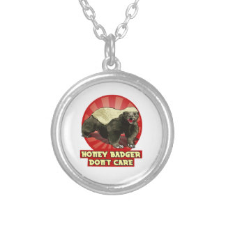 New Honey Badger Don't Care Necklace