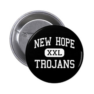 New Hope - Trojans - High - Columbus Mississippi 6 Cm Round Badge