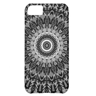 New Horizons Black and White Kaleidoscope Cover For iPhone 5C