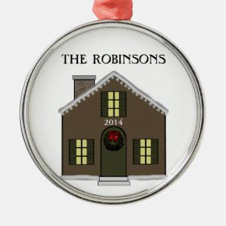 New House Christmas Ornament