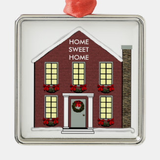 New House Collectible Christmas Ornament