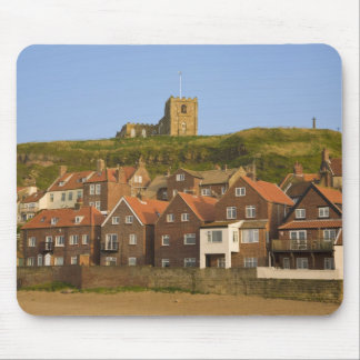 New housing and St Margarets church, Whitby, Mouse Pad