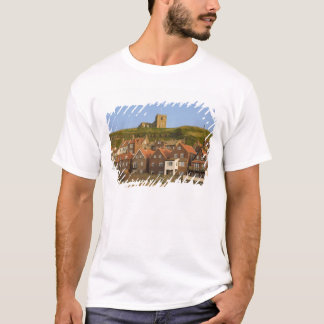 New housing and St Margarets church, Whitby, T-Shirt