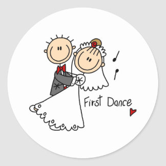New Husband And Wife s First Dance Sticker