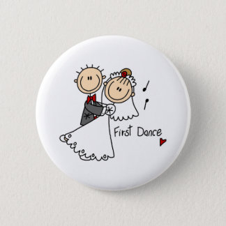 New Husband And Wife's First Dance Button