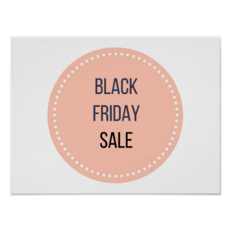 New in Shop : Black friday SALE Poster