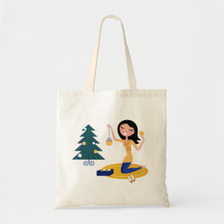 New in shop : Budget tote bag with Vintage girl