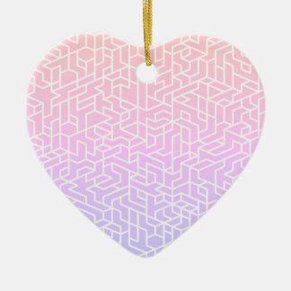 New in shop : Stylish acrylic Heart shape Ceramic Heart Decoration