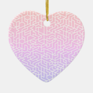 New in shop : Stylish acrylic Heart shape Christmas Ornament