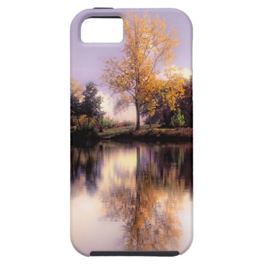 NEW iphone 5  Autumn Reflections case