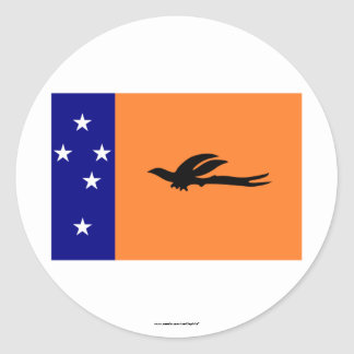 New Ireland Province, PNG Classic Round Sticker