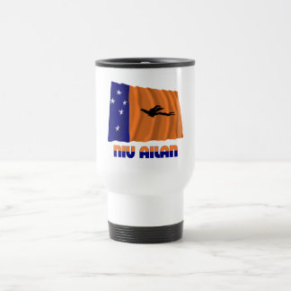 New Ireland Province Waving Flag Stainless Steel Travel Mug