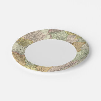 New Jersey 10 Paper Plate