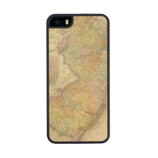 New Jersey 10 Carved® Maple iPhone 5 Case