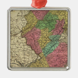 New Jersey 12 Christmas Ornament