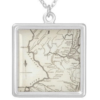 New Jersey 13 Silver Plated Necklace
