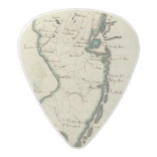 New Jersey 5 Acetal Guitar Pick