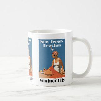 New Jersey Beaches ~ Ventnor City Coffee Mug