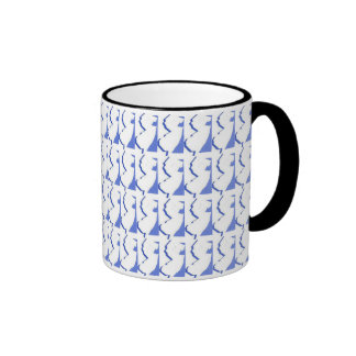 New Jersey Black Ringer Mug