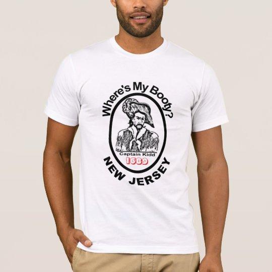 New Jersey Captain Kidd Retro t-shirt