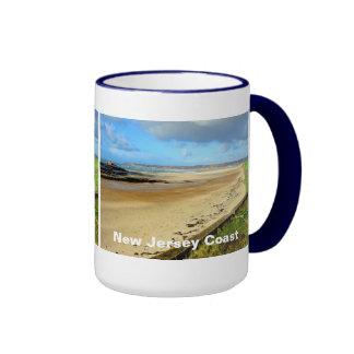 New Jersey Coast, NJ Ringer Mug